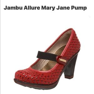 "JAMBU ""Allure"" Mary Jane Pumps 8M"
